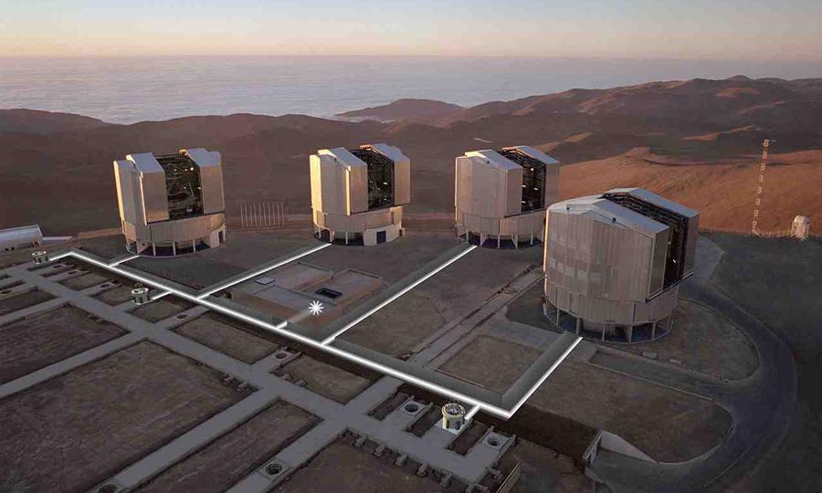 Телескоп – VLT фото