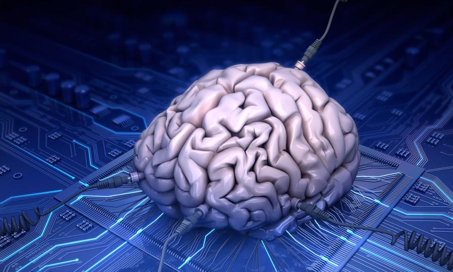 Электронный мозг фото