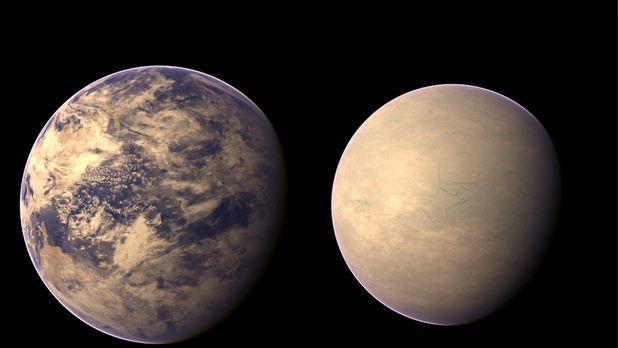 Kepler-62e и Kepler-62f.