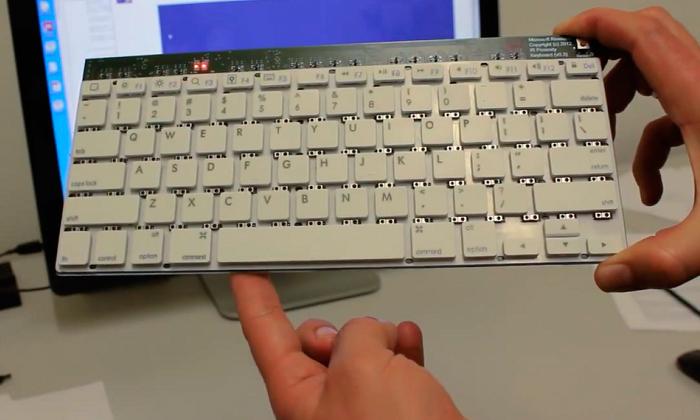 клавиатура Type-Hover-Swipe