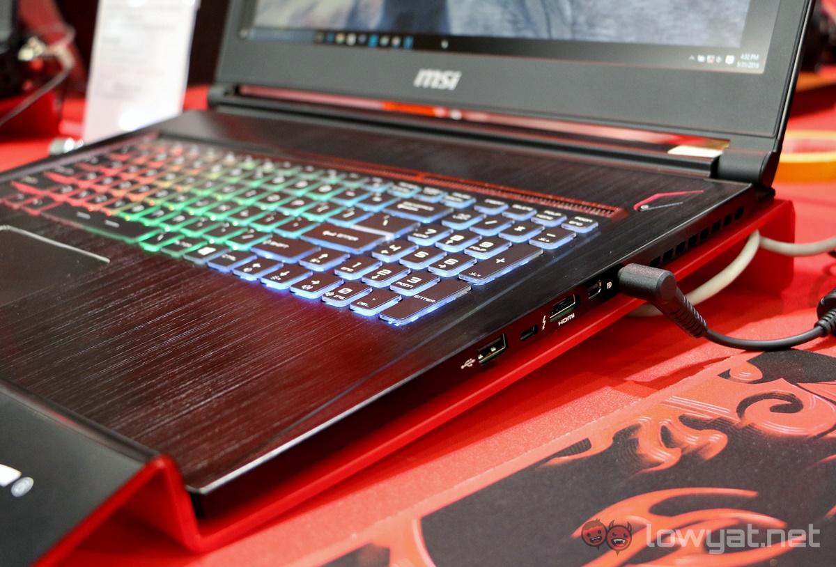 клавиатура MSI GT60