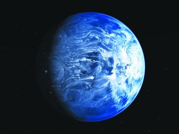 Голубая планета стеклянных дождей