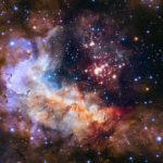 рождение звезд в телескопе Хаббл