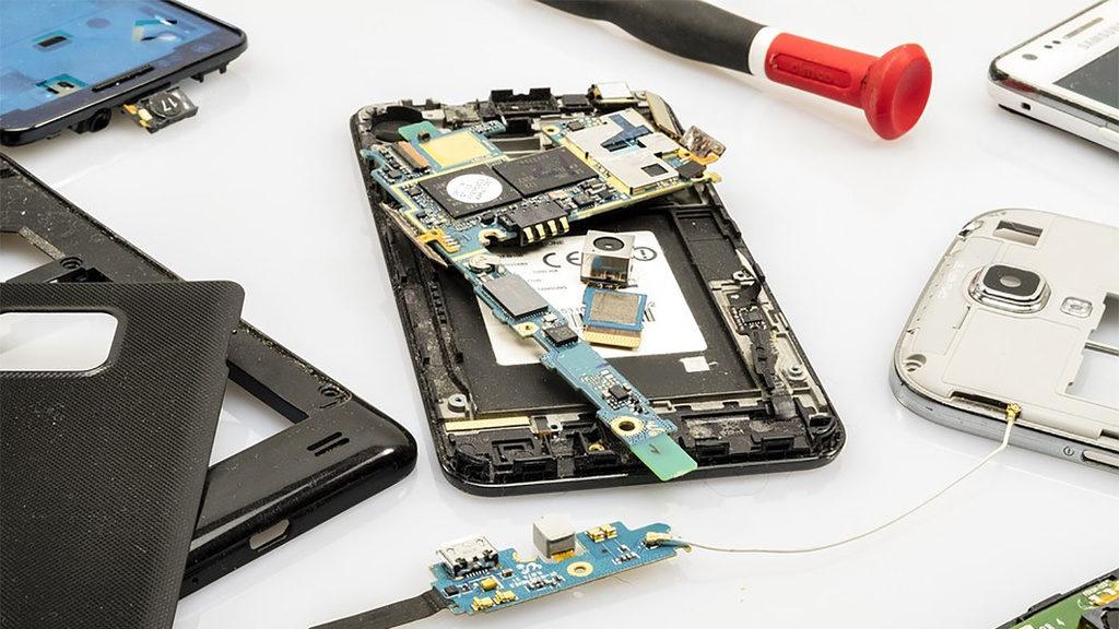 самостоятельный ремонт телефона ASUS