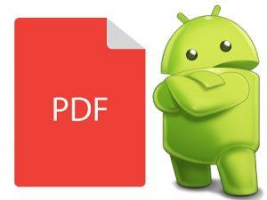 PDF файлы на Андройд
